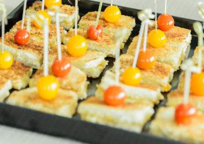 Mini Grilled Cheese Appetizers